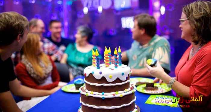 جشن تولد در آلمان