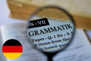 German grammar elements that are similar to English ones