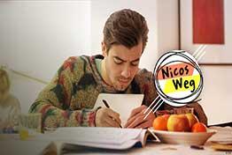 آموزش زبان آلمانی با سریال Nicos Weg